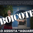 boicote aquarius