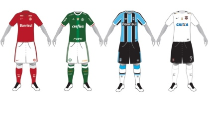 Confira como ficou o uniforme do seu time do coração no Campeonato  Brasileiro 2016 13c3c2a8befe7