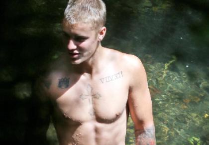 Justin Bieber Hawaii Nude