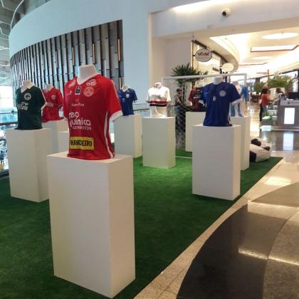 028763c698 Exposição de camisas contam a história do futebol goiano