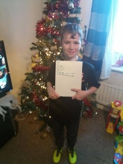 f7fbea39b Em carta ao Papai Noel, menino pede para