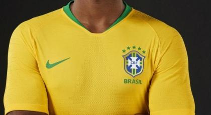 CBF mostra uniforme do Brasil com amarelo vibrante inspirado na Copa de 1970 b4ef0f35df2c8