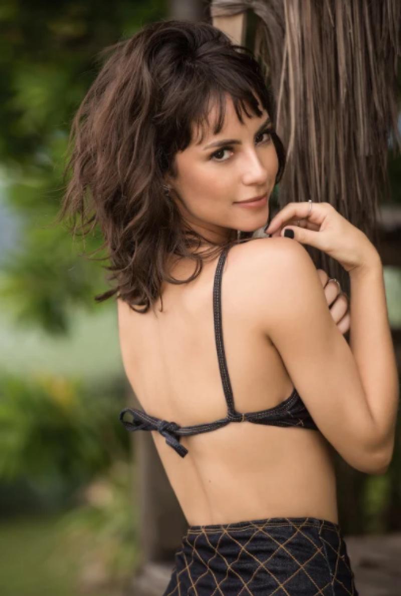 Andréa Horta Nua andreia horta dá dicas para manter a boa forma