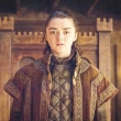 Maisie Willians, que vive a personagem Arya Stark